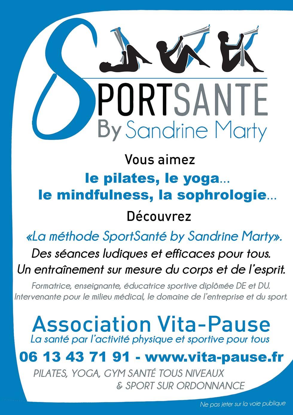 flyerMéthode SportSanté By Sandrine Marty